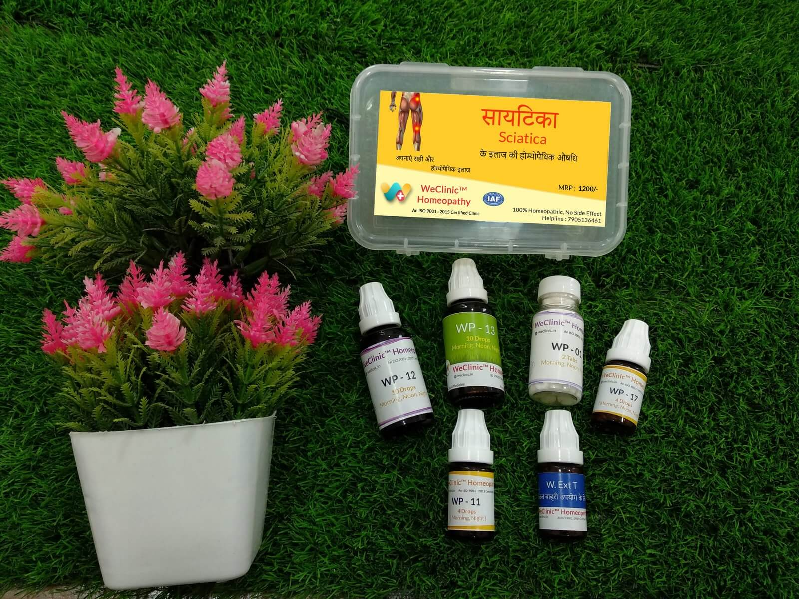 Sciatica treatment WeClinic Homeopathy