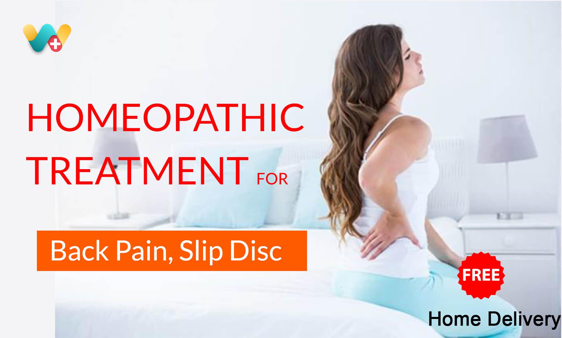 Slip Disk Treatment WeClinic Homeopathy